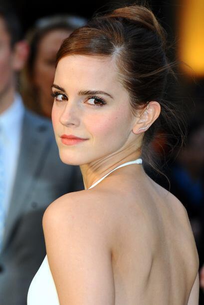 """Emma WatsonMuchos crecieron viéndola en la saga de """"Harry Potter"""" como u..."""
