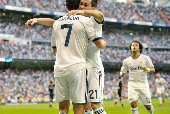 2-0 que mostraba la superioridad del Madrid ante el rival en turno.