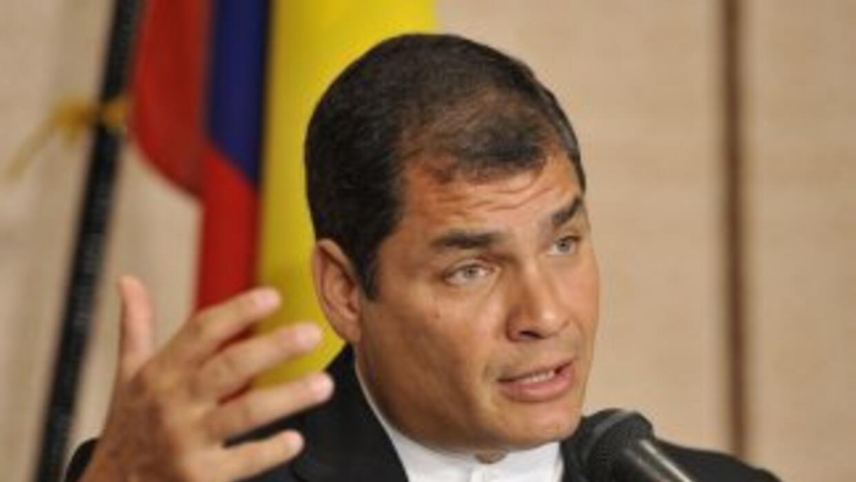 Rafael Correa, el presidente de Ecuador, ha resultado un personaje polém...