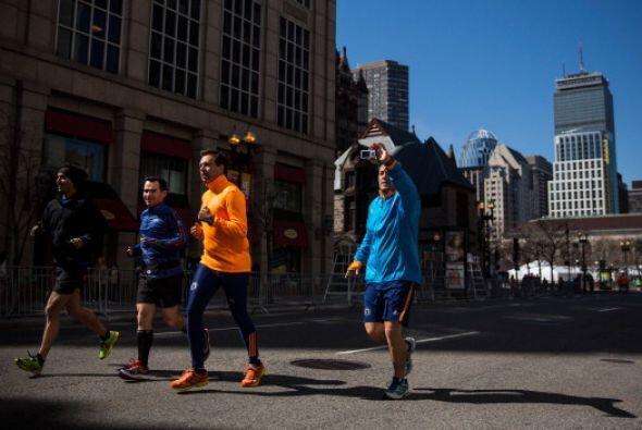 Los corredores han tomado la ciudad sin más preocupación q...