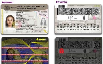 Nueva credencial para votar desde el extranjero.