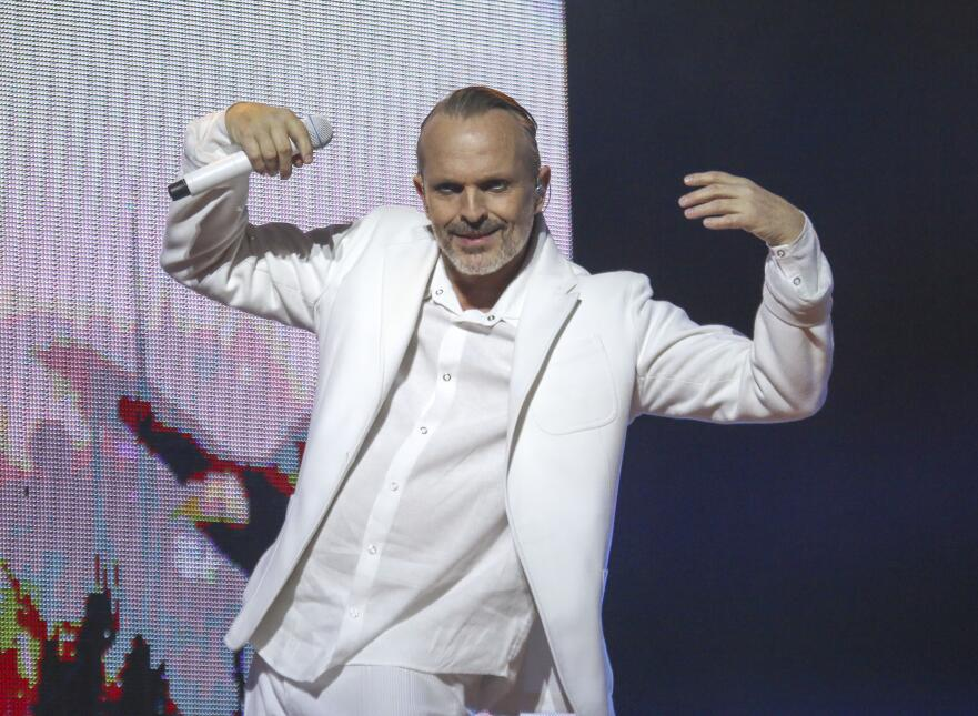 The Miguel Bose 2015 tour will be making stops in cities all across the...