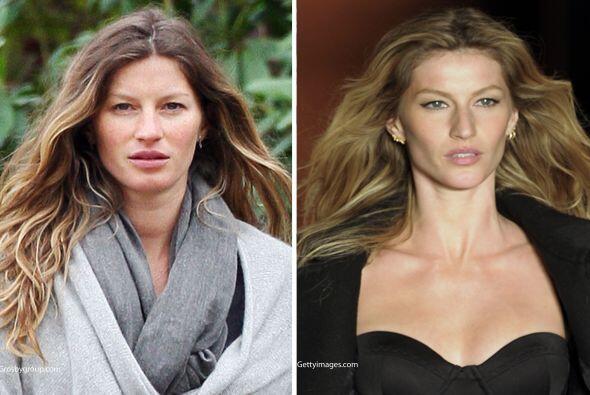 Muchas creen que las modelos siempre están bellas y hermosas, pero al de...