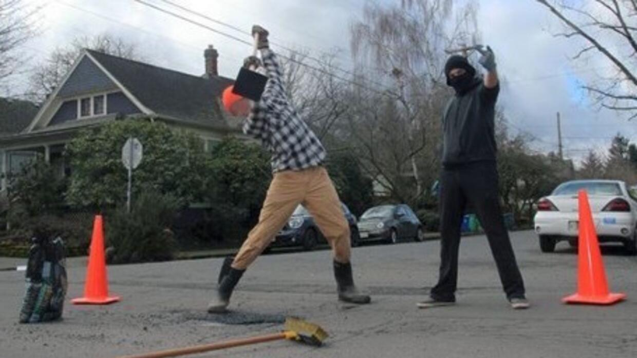 Portland Anarchist Road Care