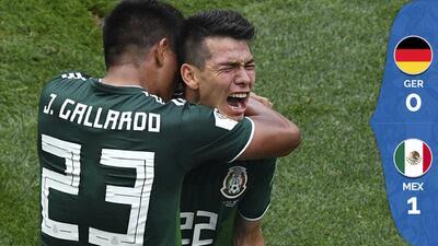 Carlos Vela fue titular en el histórico triunfo 1-0 ante Alemania en el Mundial