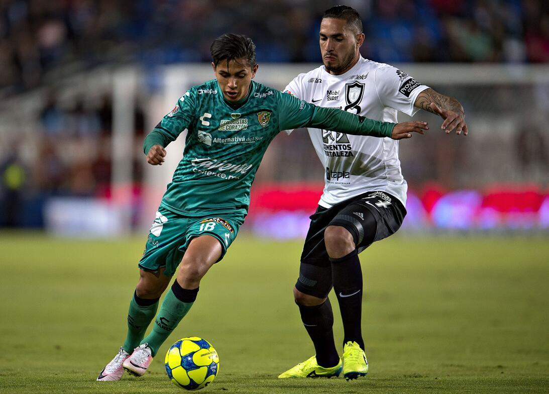 El uruguayo Braian Rodríguez, que llegó a los Tuzos desde el Everton tra...