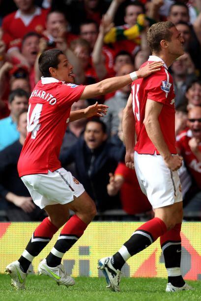 Ese gol de Vidic significó, a la postre, la victoria de los 'Red...