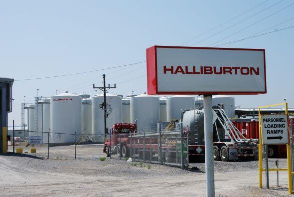 HALLIBURTON- El grupo estadounidense de servicios petroleros tuvo un des...