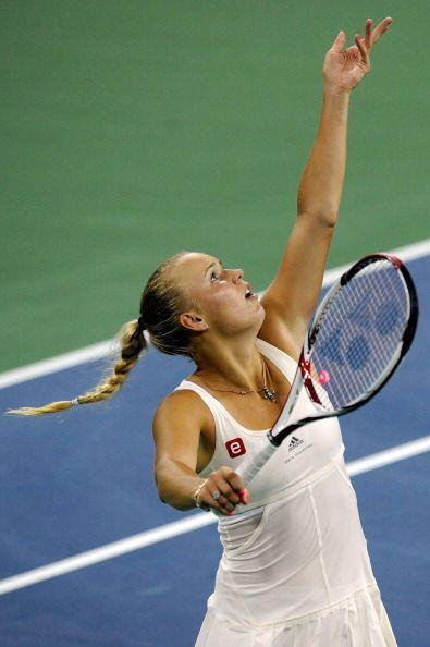 Wozniacki soñaba con repetir la remontada que protagonizó en los octavos...
