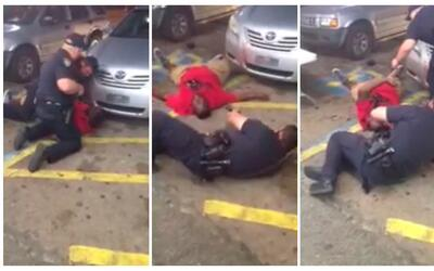 Still images from video show Alton Sterling as he is shot dead by police...
