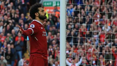 En fotos: Mo Salah, primer africano en marcar 30 goles en la Premier League