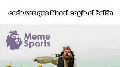 El derbi catalán tuvo goles, lluvia y memes para no parar de reir