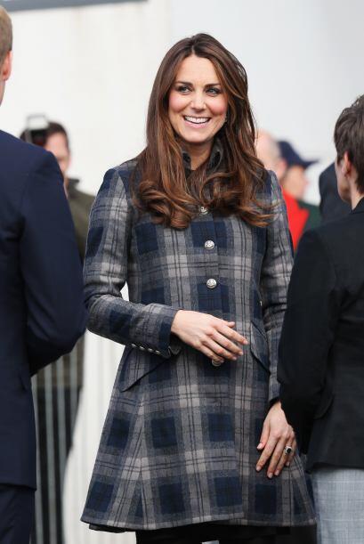Nada, debido a la delgadez de Kate Middleton, habrá que esperar a que am...