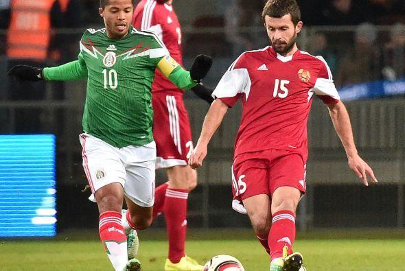 El tri completó su mini gira por Europa ante Bielorrusia y cayó 3-2.