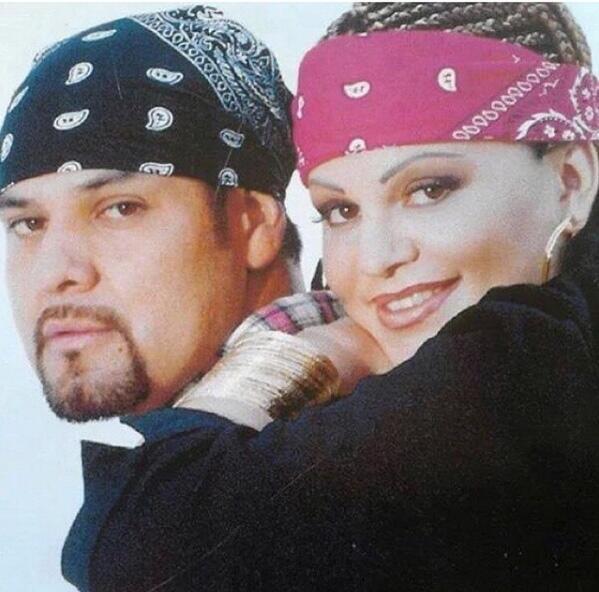 Jenni Rivera y Juan López