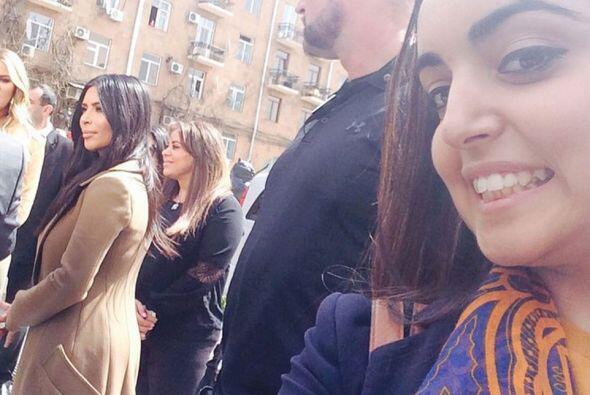 Los fans han logrado tomar algunas imágenes de las Kardashian de...