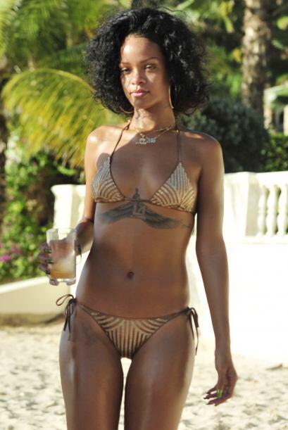 Ahí lució un espectacular bikini. Mira aquí los videos más chismosos.