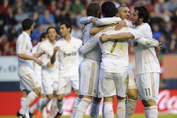 Real Madrid juega cada vez mejor, no pierde puntos y se mantiene como ún...