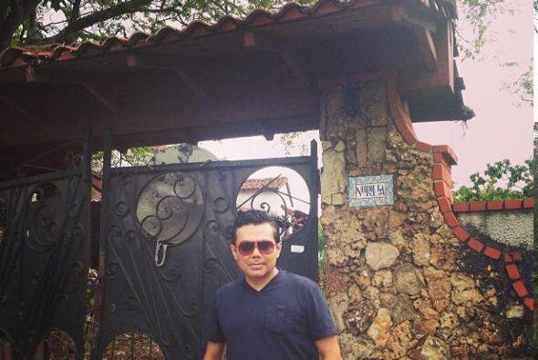 Visitó la casa del tristemente célebre Manuel Antonio Nori...