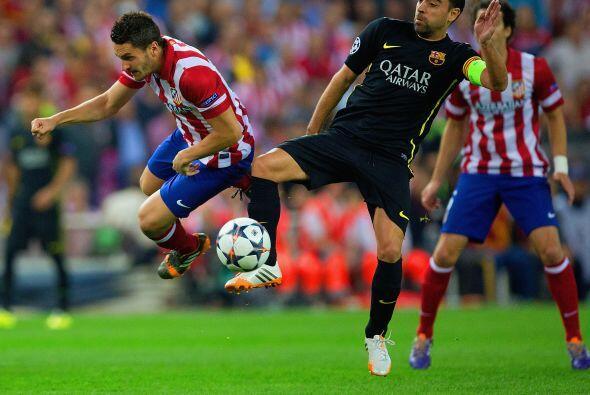 Barcelona sufría en sus intentos por superar las líneas defensivas del l...
