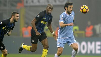 Lazio clasifica a semifinales de la Copa Italia a costa del Inter