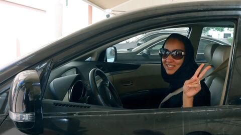 Manal Al Sharif, activista por los derechos de las mujeres saudí.