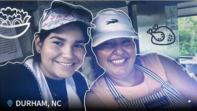 Cecilia Polanco: un 'food truck' de pupusas que ayuda que más hispanos lleguen a la educación superior