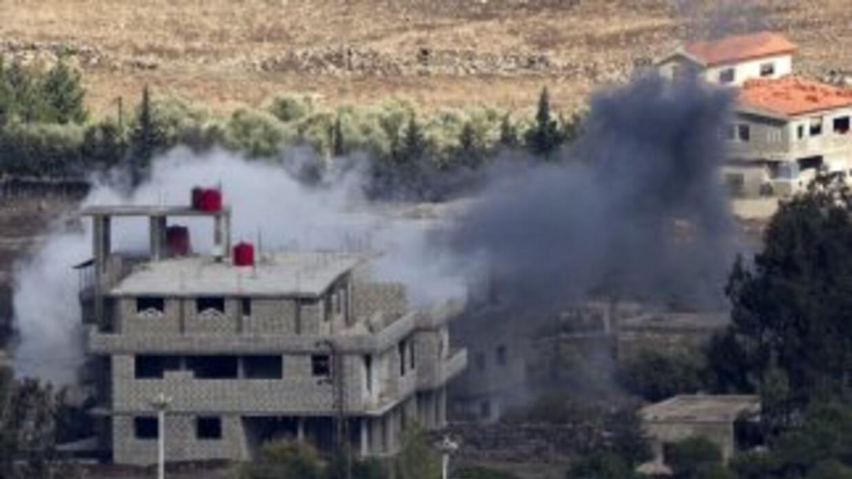 Israel lanzó un segundo ataque a Siria.
