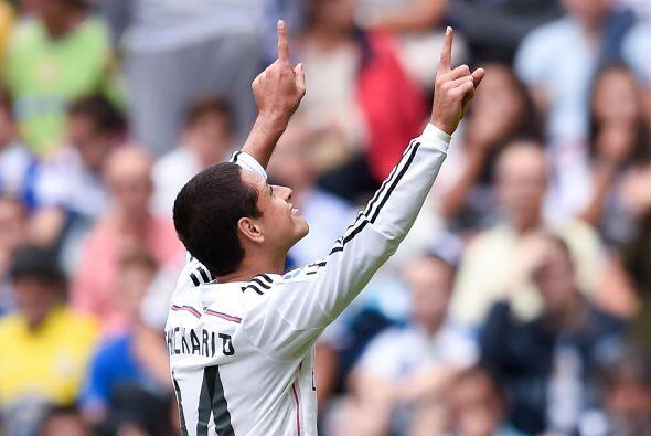 Mientras que Javier 'Chicharito' Hernández cuenta con 27 minutos.