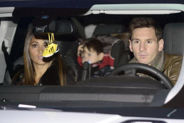 El hijo de Messi seguramente jugaría mucho con Milan.