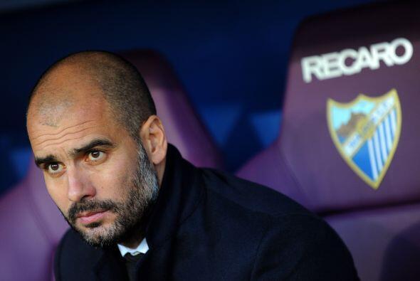 Josep Guardiola y su equipo sabían que era una complicada visita y no po...