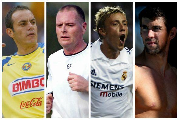Estos atletas combinaron la bebida y el alcohol con sus deportes, alguno...