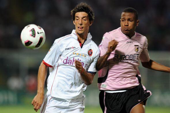 En otro encuentro, Palermo y Cagliari repartieron puntos con un empate s...