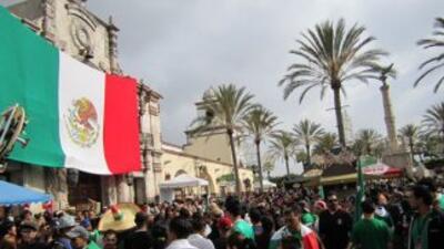 ¡Celebrando en Plaza Mexico!