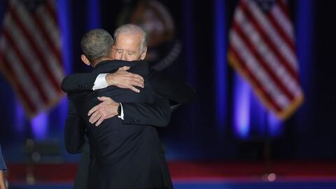 """Obama a Biden: """"tu amistad ha sido una de las grandes alegrías de nuestr..."""