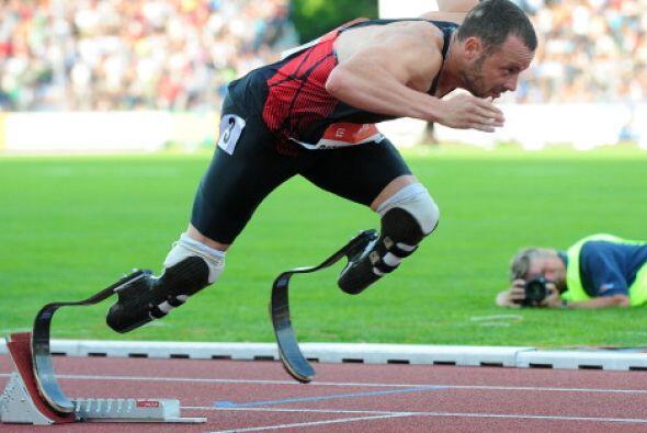 """""""En estas circunstancias, Oscar Pistorius es el atleta más económico, ya..."""