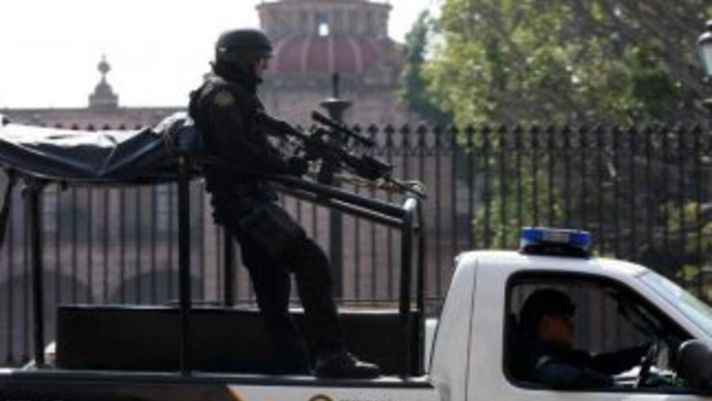 Policía Municipal de Michoacán.