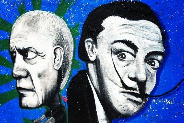 Ave Tláhuac, Dali y Picasso  Fotos por usuarios de Instagram