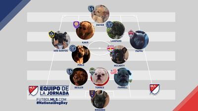 El Once Ideal de la MLS conformado por los perros de los futbolistas