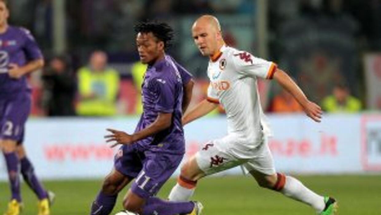 """La Roma le sacó los tres puntos a la """"Fiore"""" a domicilio."""