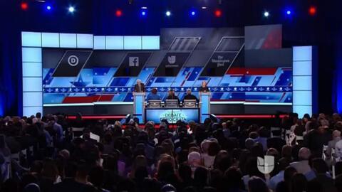 Lo más importante del debate demócrata en español