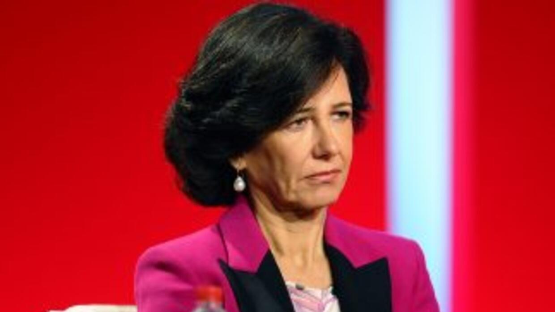 Ana Patricia Botín, hija de Emilio Botín.