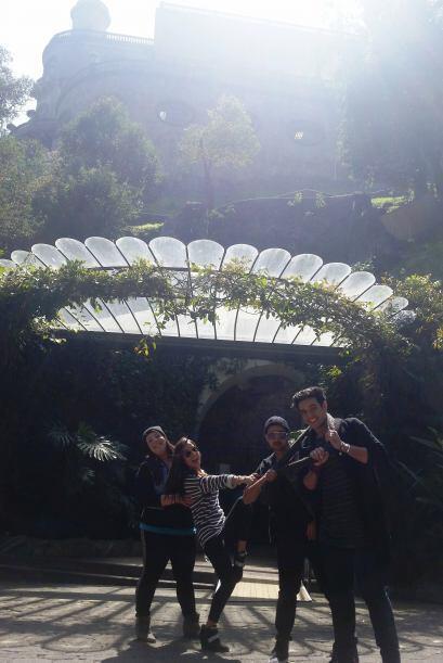 Ya casi llegamos a ver el Castillo de Chapultepec… Falta muy poco para l...