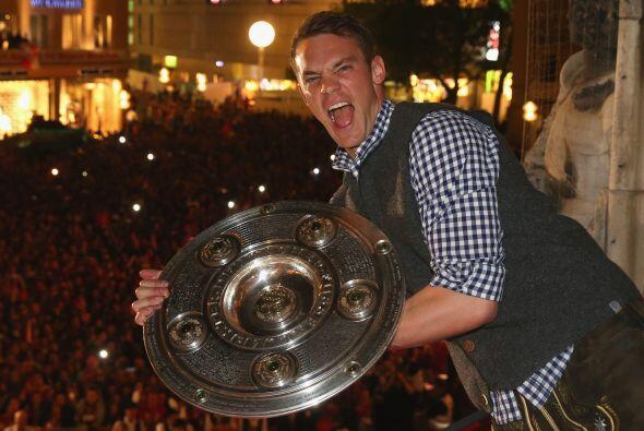 Manuel Neuer fue campeón de la Bundesliga con el Bayern Munich quien se...