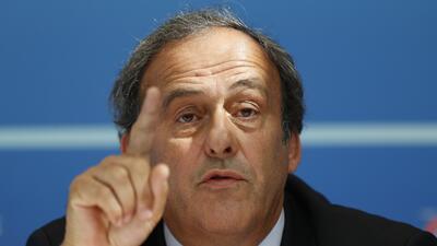 Michel Platini no será presidente de FIFA