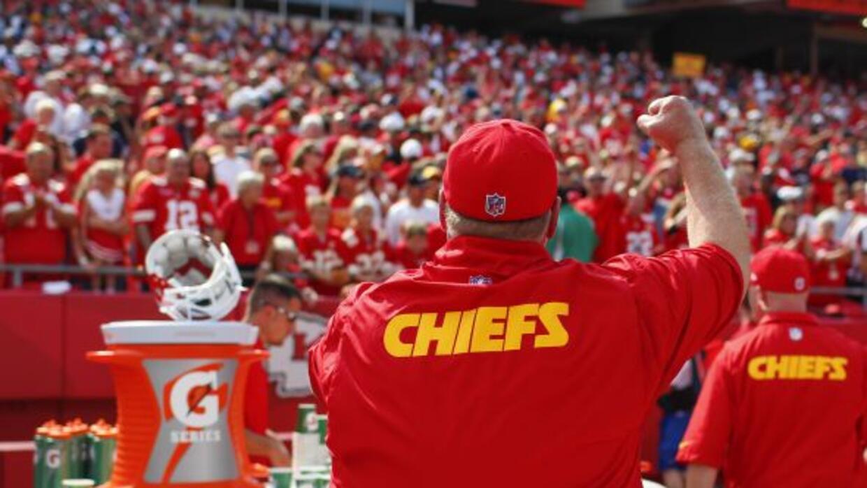Entró esta temporada para dirigir a los Chiefs.