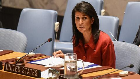"""Embajadora de EEUU ante la ONU tras lanzamiento de misiles: """"Estamos pre..."""