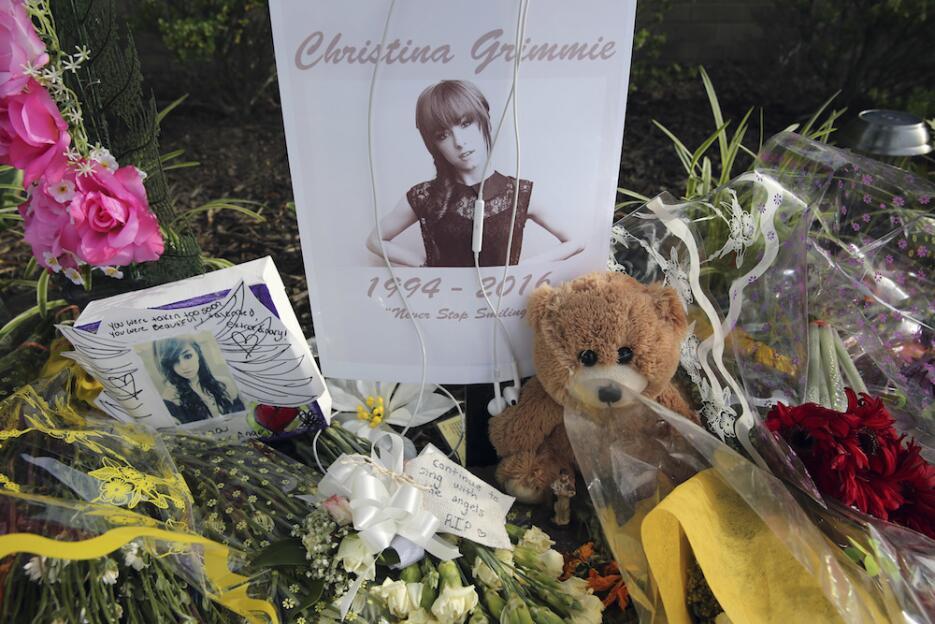 Rinden homenaje póstumo a Christina Grimmie en Nueva Jersey homenaje-gri...