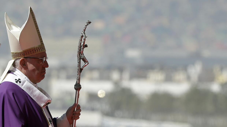 Papa Francisco en Ecatepec