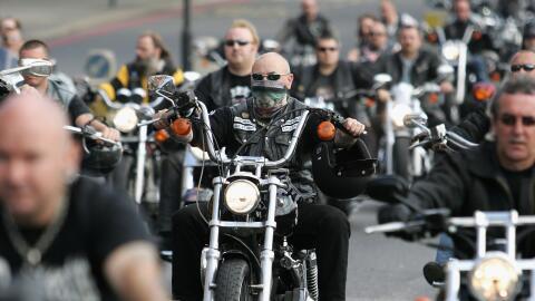 La pandilla de motociclistas Hells Angels es considerada una organizació...